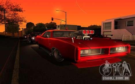 Zolta ENB para GTA San Andreas por diante tela