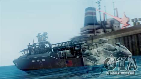 CB90-Class Fast Assault Craft BF4 para GTA San Andreas