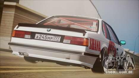 BMW E24 Shakugan No Shana Itasha para GTA San Andreas esquerda vista
