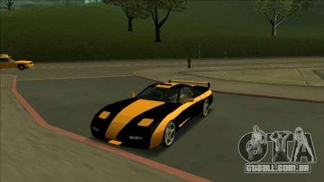 ZR-350 Road King para o motor de GTA San Andreas
