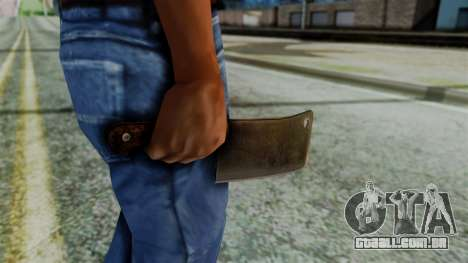 Cleaver from Silent Hill Downpour para GTA San Andreas terceira tela