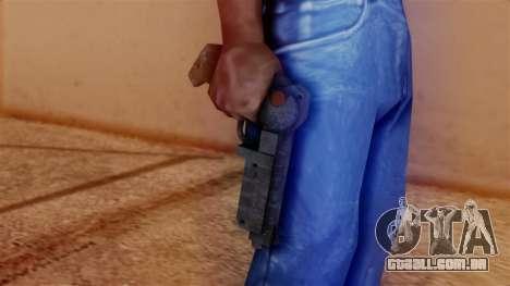 Laser Pistol para GTA San Andreas terceira tela