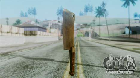 Cleaver from Silent Hill Downpour para GTA San Andreas