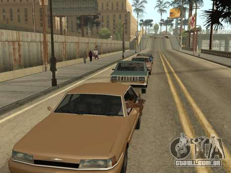 Manual Driveby para GTA San Andreas