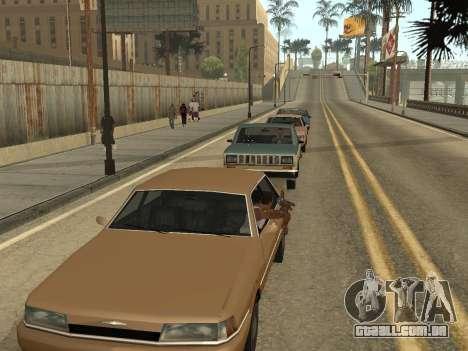 Manual Driveby para GTA San Andreas