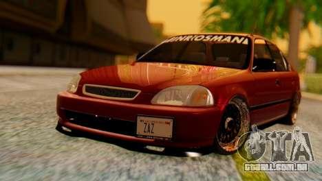 Honda Civic JnR Tuning para GTA San Andreas