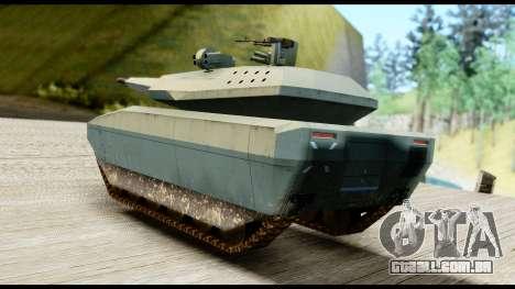 PL-01 Concept para GTA San Andreas esquerda vista