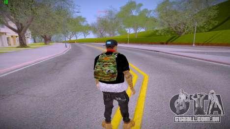 Fresco para GTA San Andreas terceira tela