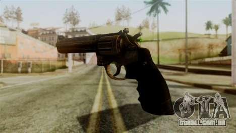 Colt Revolver from Silent Hill Downpour v1 para GTA San Andreas segunda tela