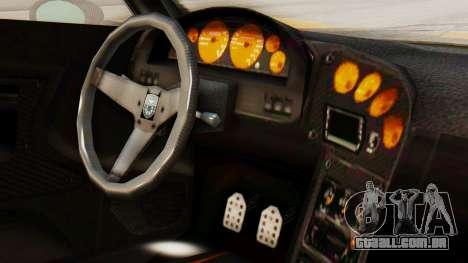 Pegassi Osyra Full Extras para GTA San Andreas vista direita
