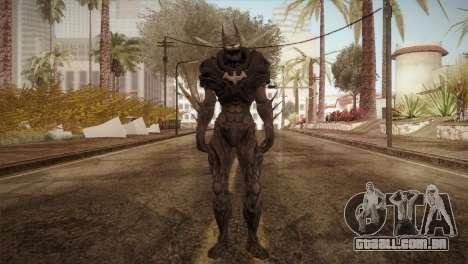 Batman Nightmare Skin para GTA San Andreas segunda tela