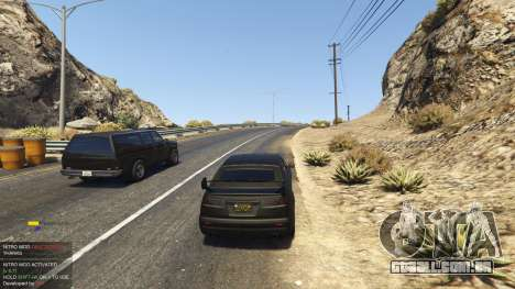 GTA 5 Nitro Mod (Xbox Joystick support) 0.7 quarto screenshot