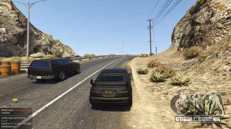 Nitro Mod (Xbox Joystick support) 0.7 para GTA 5