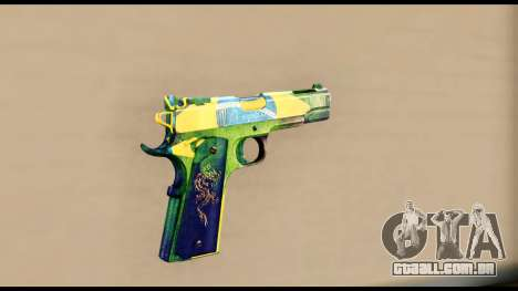 Brasileiro Pistol para GTA San Andreas segunda tela