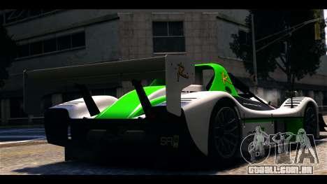 Radical SR8 RX para GTA 4 esquerda vista