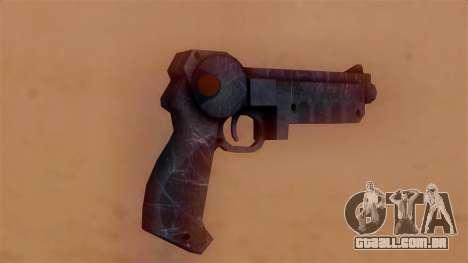 Laser Pistol para GTA San Andreas segunda tela