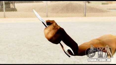 Chave-faca para GTA San Andreas por diante tela