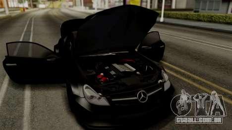 Mercedes-Benz SL65 E-Tuning para GTA San Andreas vista traseira