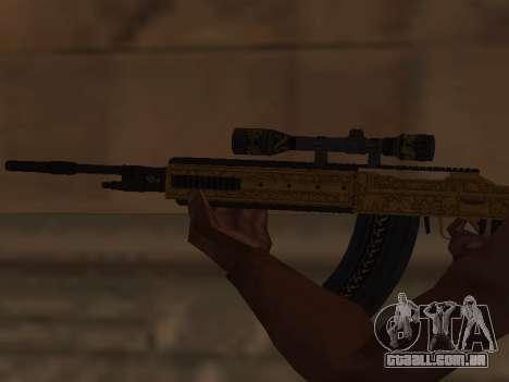 Marksman Rifle para GTA San Andreas terceira tela