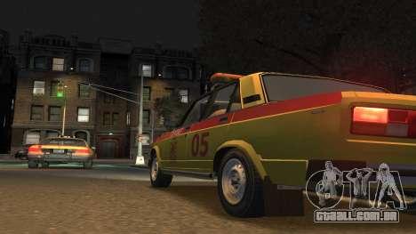 USANDO 2105 Gorsvet para GTA 4 esquerda vista