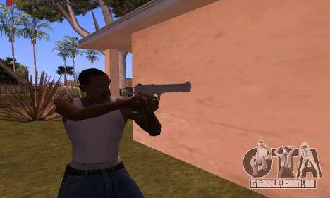 Deagle from Battlefield Hardline para GTA San Andreas segunda tela