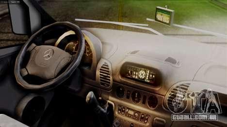 Mercedes-Benz Sprinter Ambulance Vittal para GTA San Andreas vista direita