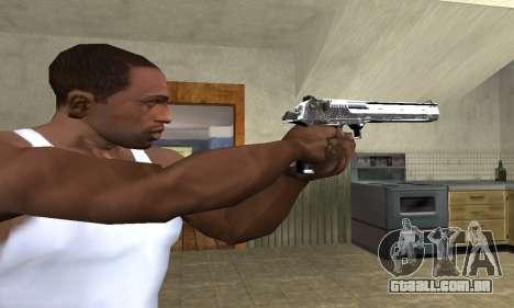 Flacon Deagle para GTA San Andreas terceira tela