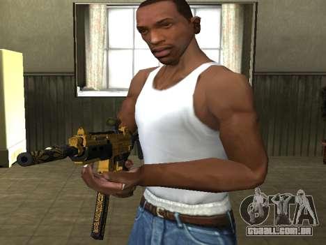 GTA 5 SMG para GTA San Andreas terceira tela