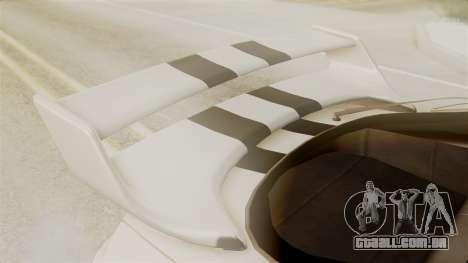Toyota Supra Full Tuning para GTA San Andreas vista traseira