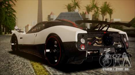 Pagani Zonda Cinque 2009 Autovista para GTA San Andreas esquerda vista