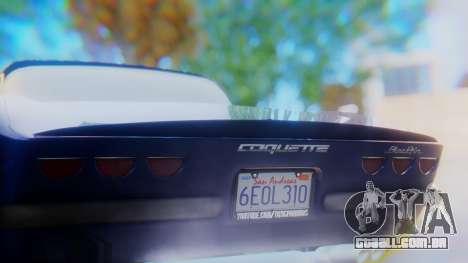Invetero Coquette BlackFin v2 SA Plate para GTA San Andreas vista inferior