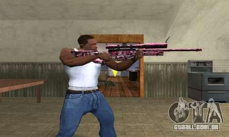 Lamen Sniper para GTA San Andreas terceira tela