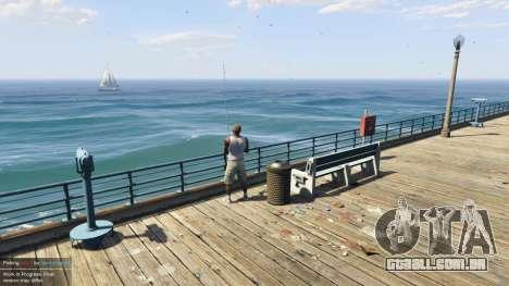 GTA 5 Fishing Mod 0.2.7 BETA quarto screenshot