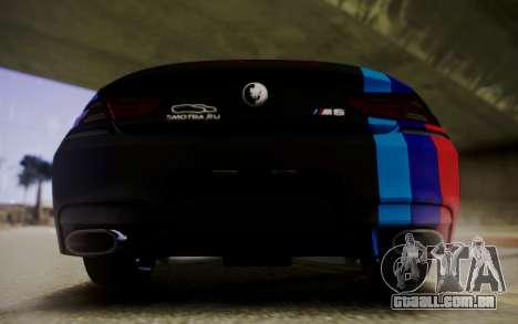 BMW M6 Cabrio para GTA San Andreas vista direita