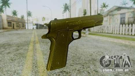 M1911 Pistol para GTA San Andreas segunda tela