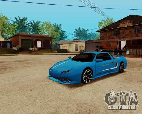 Infernus Lamborghini para GTA San Andreas vista direita