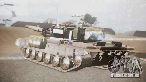 T-90A BF4 para GTA San Andreas esquerda vista