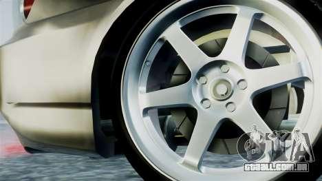 Honda S2000 para GTA San Andreas traseira esquerda vista