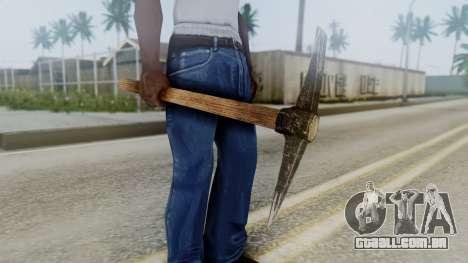 Red Dead Redemption Net para GTA San Andreas segunda tela
