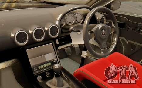 Nissan Silvia S15 Stance para GTA San Andreas vista direita