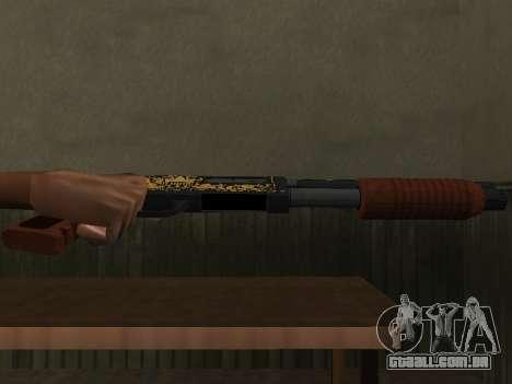 GTA 5 Sawed-Off Shotgun para GTA San Andreas segunda tela
