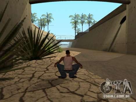 Ped.ifp Animação Gopnik para GTA San Andreas quinto tela