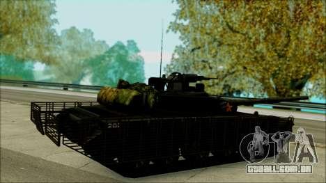 Type 99 BF4 para GTA San Andreas esquerda vista