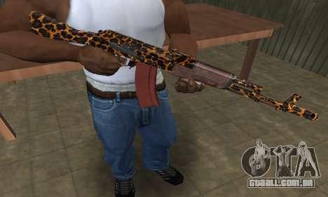 Leopard AK-47 para GTA San Andreas