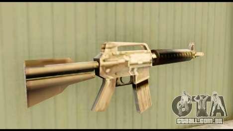 M4 Fixed para GTA San Andreas segunda tela