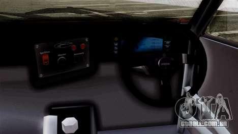 Toyota AE86C para GTA San Andreas traseira esquerda vista