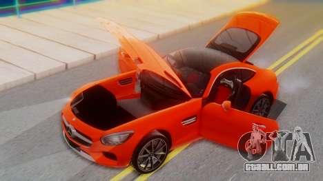 Mercedes-Benz SLS AMG GT para vista lateral GTA San Andreas