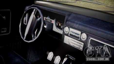 GTA 5 Vapid Slamvan IVF para GTA San Andreas vista direita
