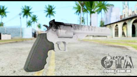 Desert Eagle from Resident Evil 6 para GTA San Andreas segunda tela