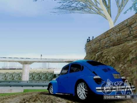 Volkswagen Beetle 1980 Stanced v1 para o motor de GTA San Andreas